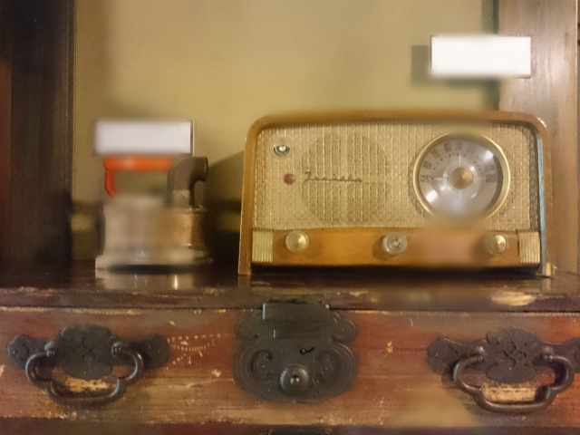 昭和のラジオレトロイメージ。
