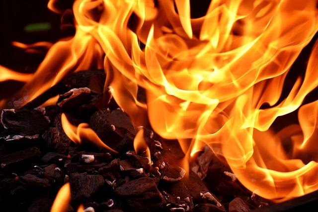 火、安全確保