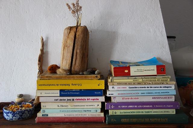 本とインテリア
