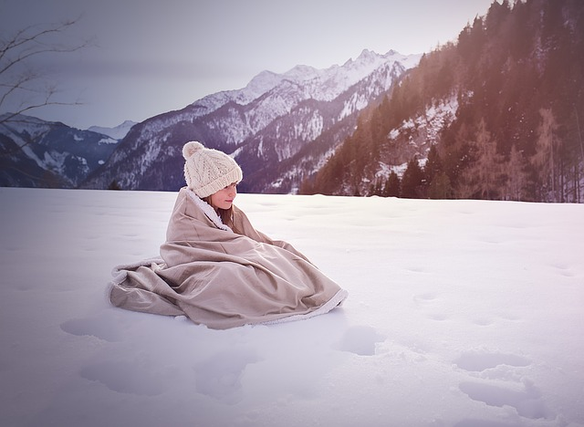軽やか毛布