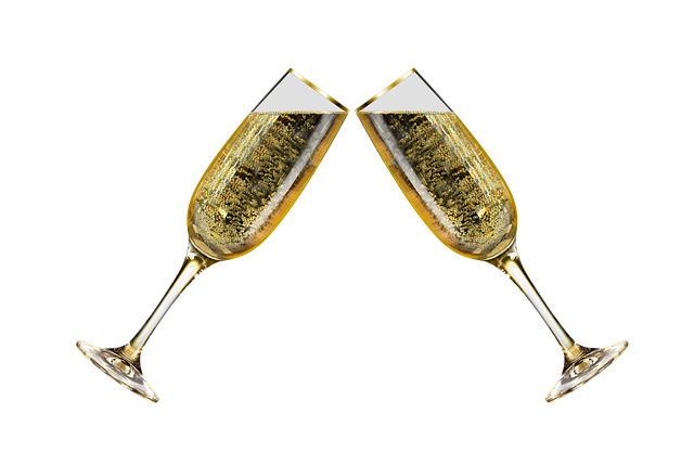 ワインを乾杯