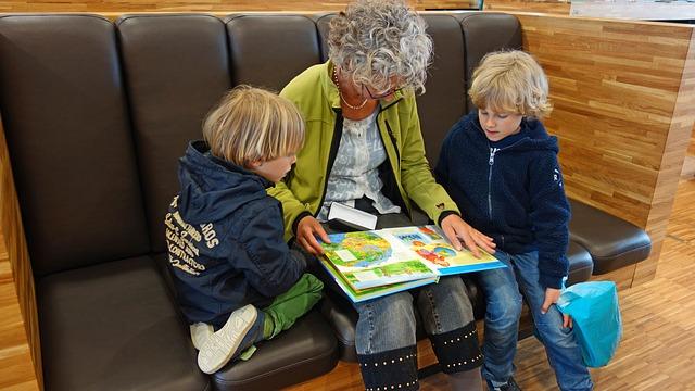 親と一緒に読書習慣